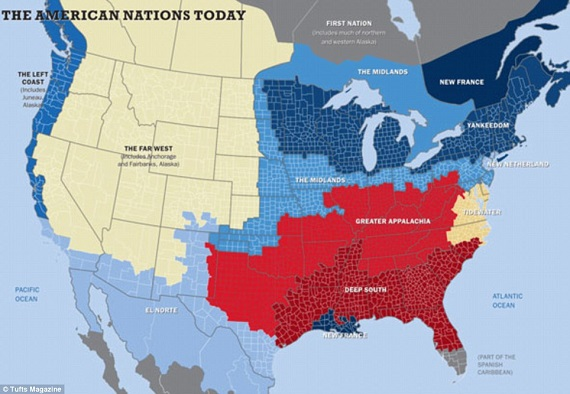 separate american nations