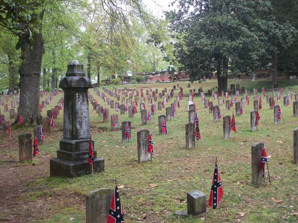 Ode to the Confederate Dead